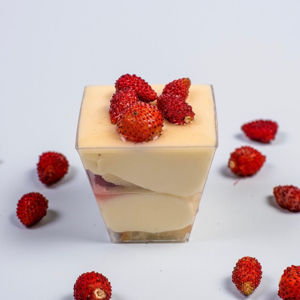 Immagine di Mousse con Fragoline