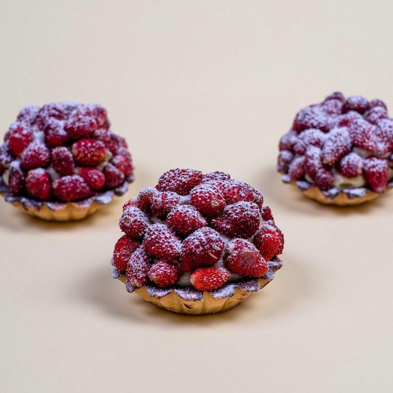Immagine di Crostata con Crema e Fragoline