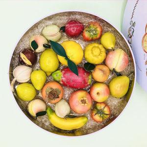 Immagine di Confezione in latta Frutta Martorana 2 Kg