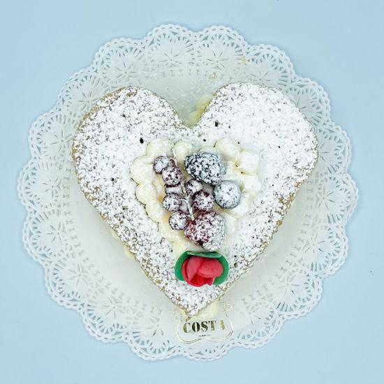 Immagine di Sfoglia Chantilly e Frutti di bosco San Valentino